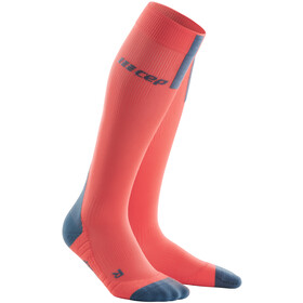 cep Run Socks 3.0 Heren, coral/grey
